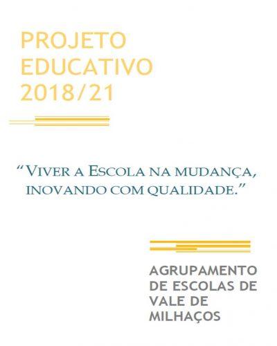 Projeto Educativo 2018-2021